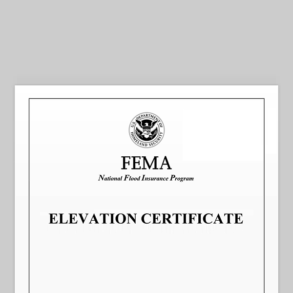 elevation certificate - accurate flood zone